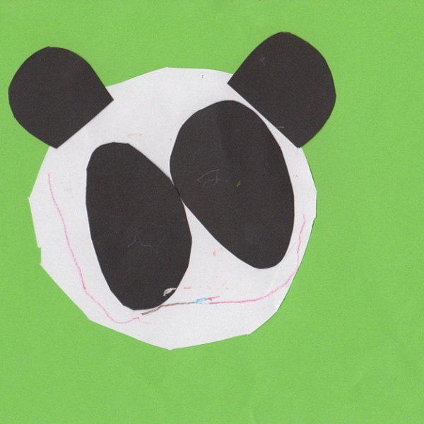 Panda Bear by Emese