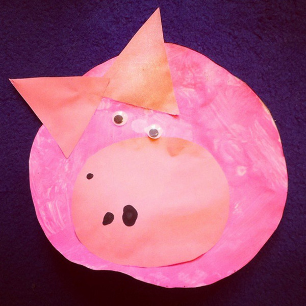 Pink Piggy by Aidan