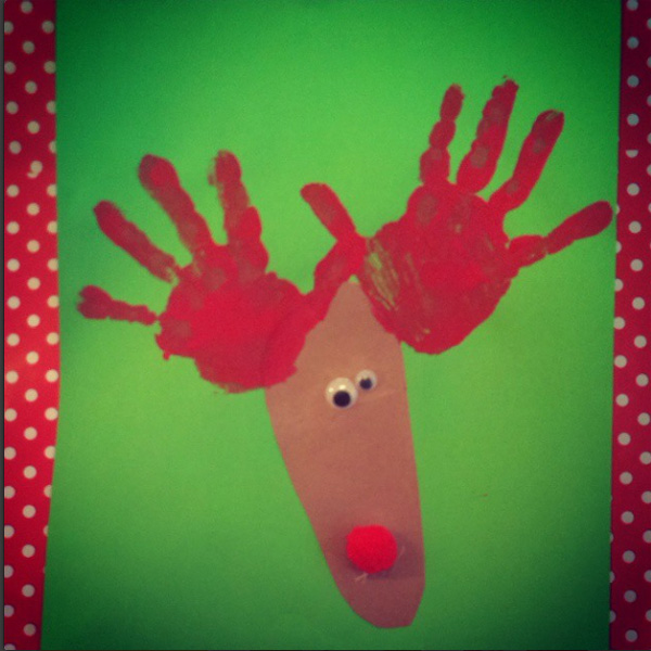 Rudolf the Red Reindeer by Dori