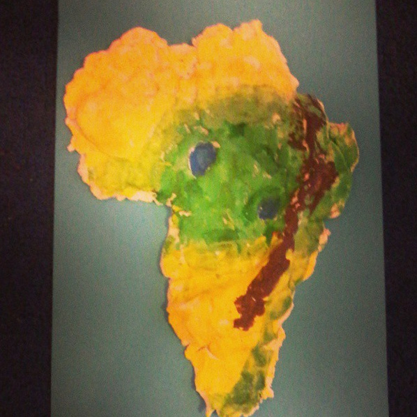 Salt Dough Africa by Emma