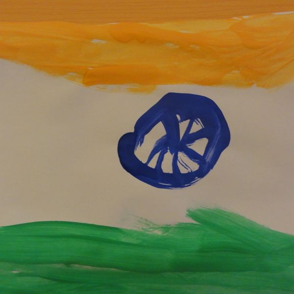 The Flag of India by Siddhant