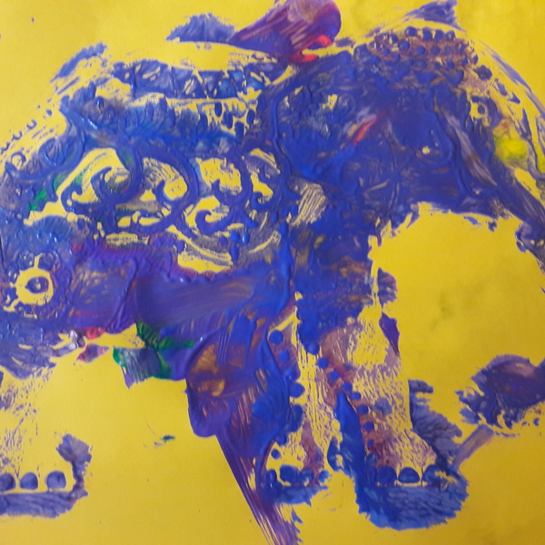 indian elephant by Rosie